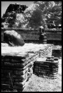 Ruins, Wat Phra - Double Sided Travel Photograph on Aluminum