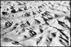 """Russia I"" - Black and White Landscape Infrared Aerial Photography"