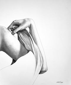 Unveiling V - Contemporary Figurative Drawing in Pen + Ink + Graphite Academic