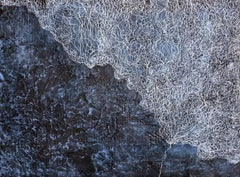 A Memory of the Breeze - Contemporary Abstract w/ Incredible Texture & Blues