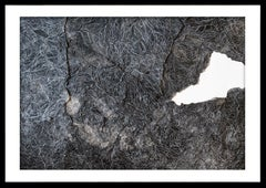 Fragments of Memory - Contemporary Abstract Fabriano Paper + Ink Black & White