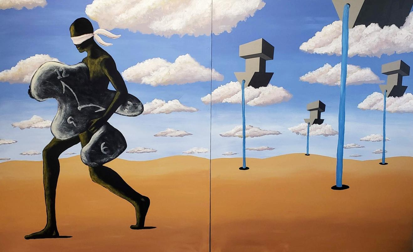 Persistence and the Unstoppable Apparatus - Contemporary Surrealist Artwork
