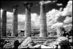 Agrigento, Sicilia - Black and White Pigment Print, (4/25)