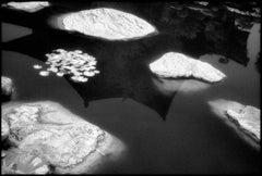Huaging Hot Springs III, Xi'an China- Black and White Pigment Print, (4/25)