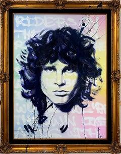 Jim- Acrylic Portrait Jim Morrison