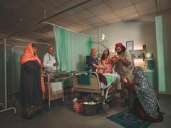 Call to Prayer- Staged Photograph of Muslim Birth Scene