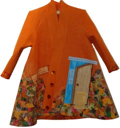 Ella Josephine Baker- Civil Rights Swing Coat - Contemporary Textile Art