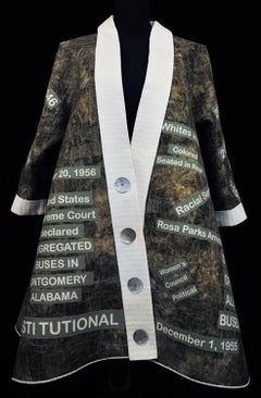 JoAnn Robinson - Civil Rights Swing Coat Memorial to Black Women Activists