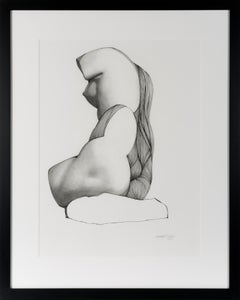 Unveiling I - Contemporary Figure Drawing in Pen, Ink + Graphite