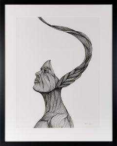 Spirit Warrior - Contemporary Figurative Illustration