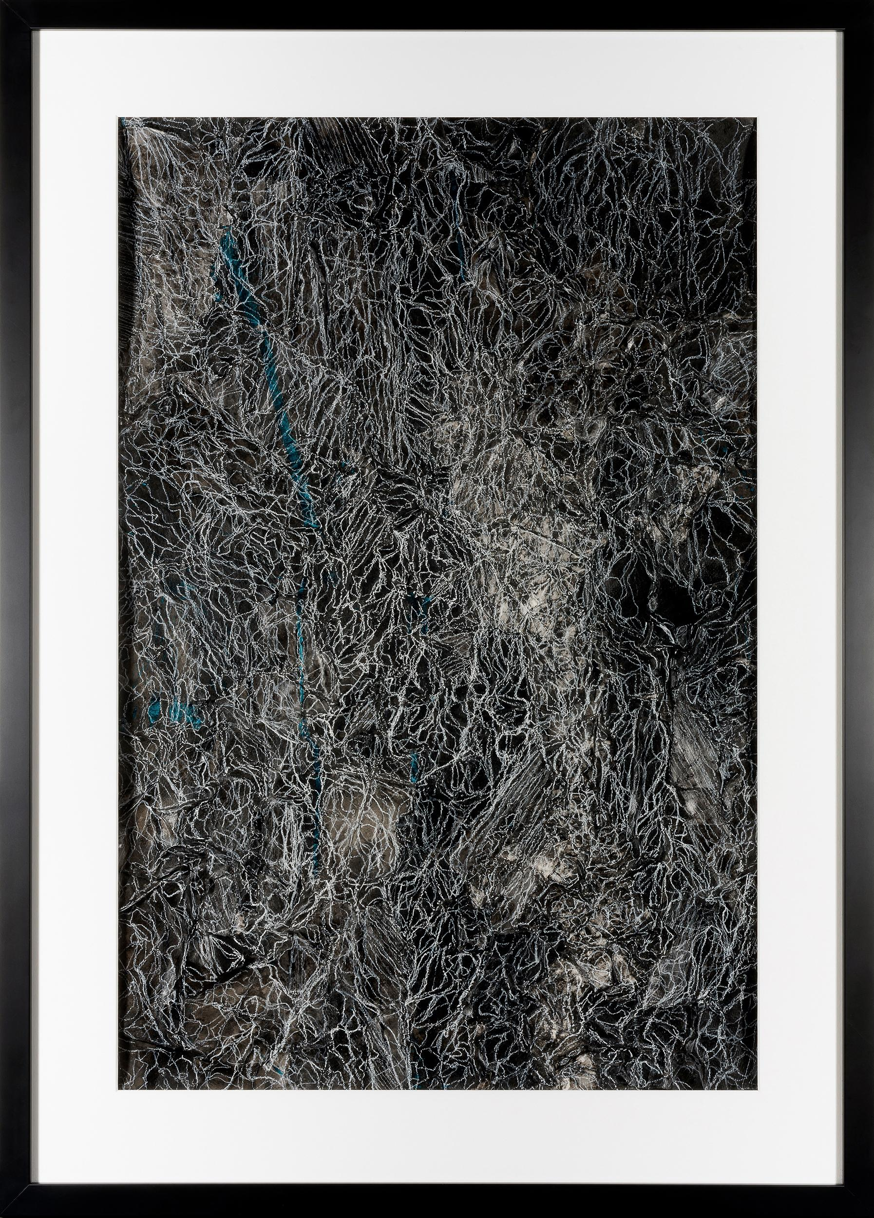 Fragments of Memory II - Contemporary Abstract Illustration
