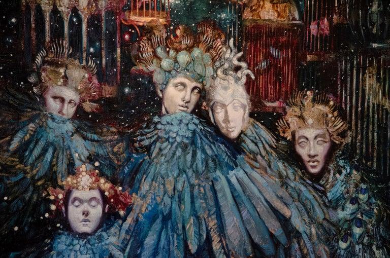 Bohemians - Painting by Fidan Kim