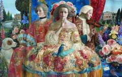 """Versailles"", Olga Suvorava, Oil on Canvas, Russian Figurative Realism"