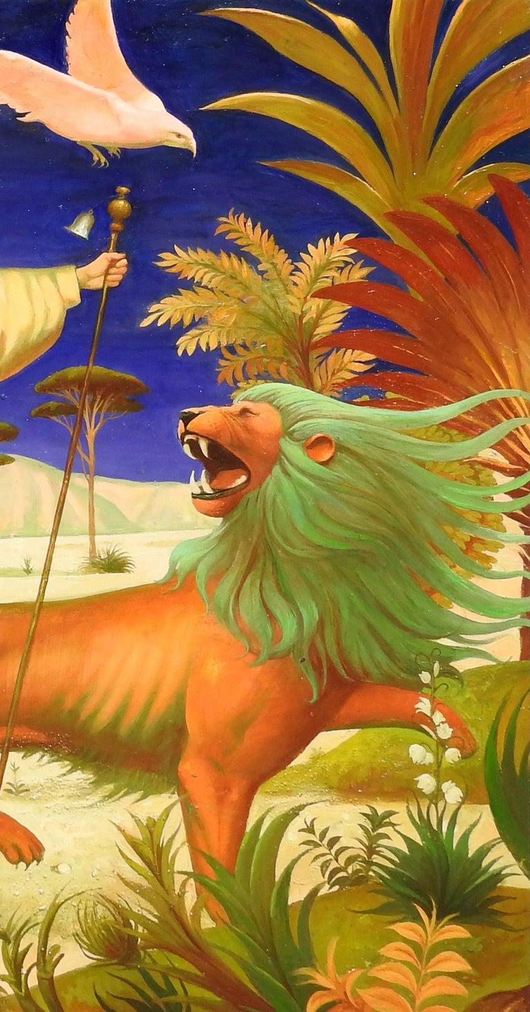 Igor Samsonov - The Ox, The Lion, The Eagle, The Man