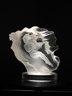 """Spirita"", Frederick Hart, Acrylic Sculpture, 15x14x7 in., 330/350, white"