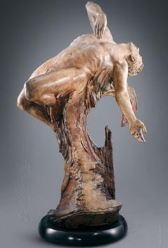 """""""From the Heart"""", Martin Eichinger, Figurative, Bronze, Romantic, 62x38x33 in."""