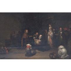 Presentation in the Temple, Christian Wilhelm Ernst Dietrich, Oil on Canvas