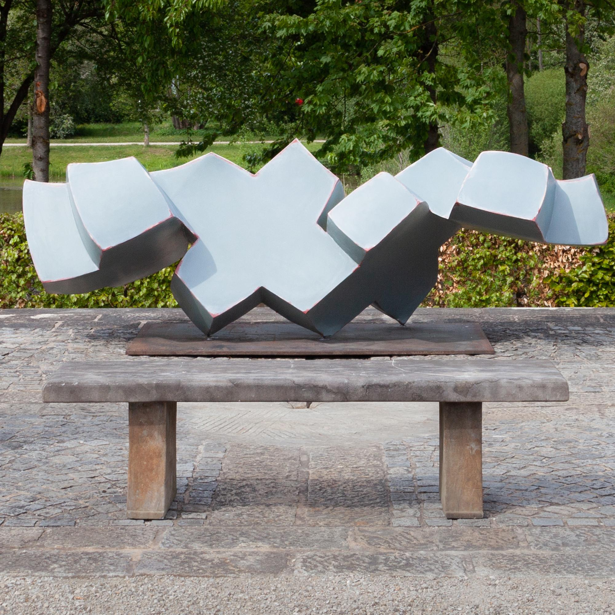 XXXX, Jörg Bach, 2006, Lacquer and Steel, Abstract Sculpture, Germany
