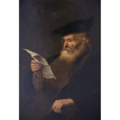 Scholar Portrait, In the Manner of Salomon Koninck, 17th Century