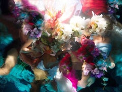 Flower Bodies, photography, figurative, underwater, flowers