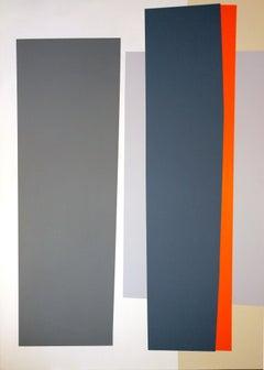 Frontiers 25, acrylic on canvas, geometric abstraction, hard edge, minimal