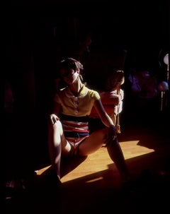 The Attic - Female Figure Seductive in the Shadow - Feminist Photography