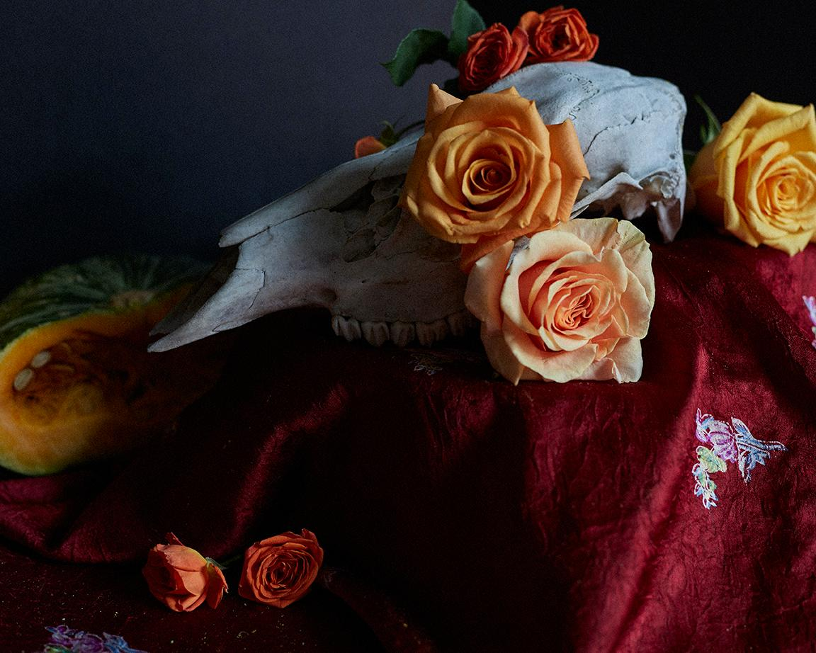 Flower Arrangement III, Original Still Life Photography, Karen Epstein
