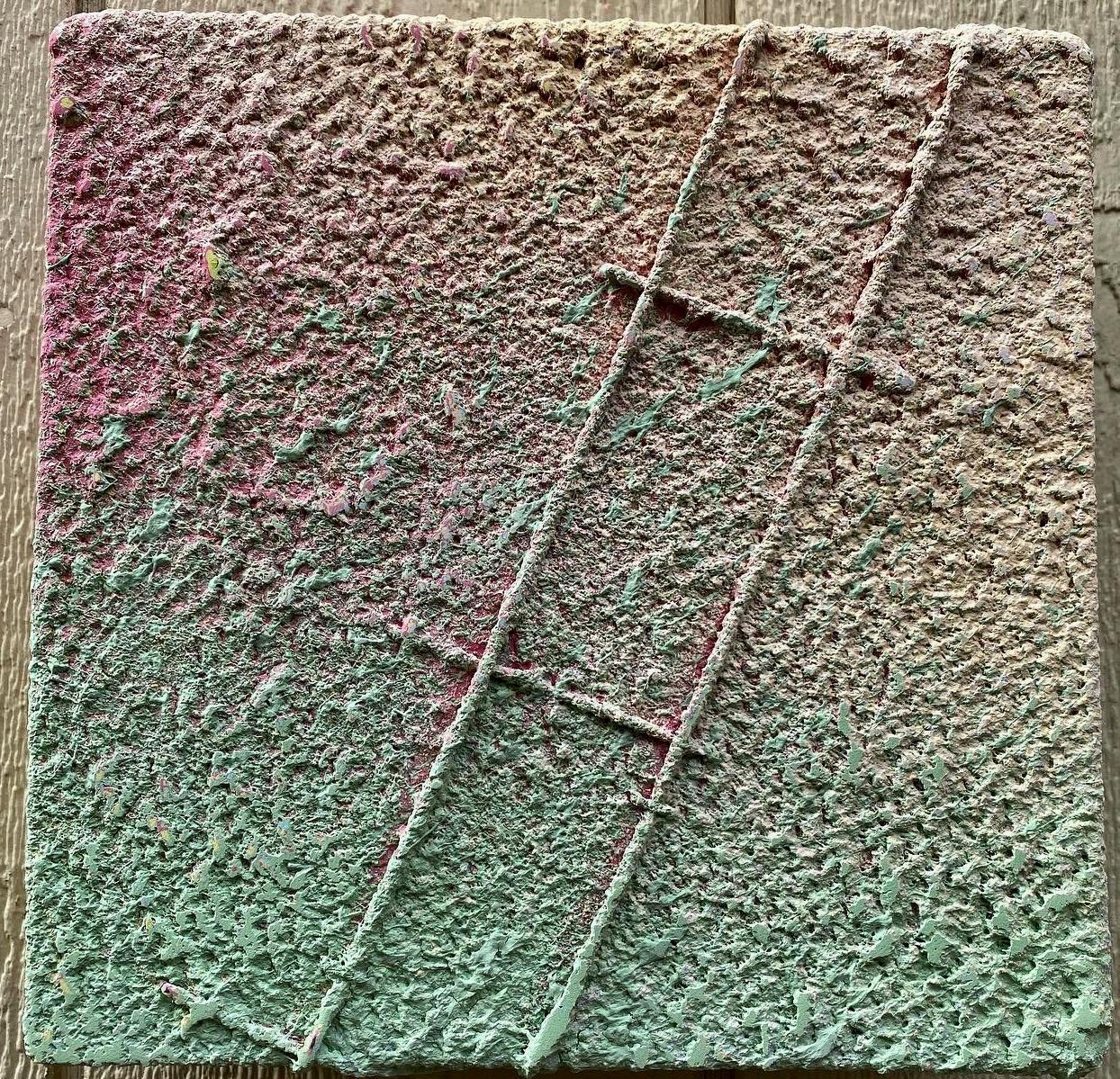 Pastel 10by10z 4, mixed media by Joel Blenz
