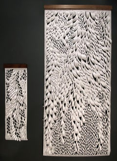Hand-cut Paper Scroll, Wall Hangings 56x24
