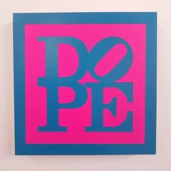 DOPE- Magenta & Power Blue (P)