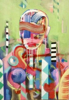 The Sailor - Pastels mixed media Painting on Canvas by Andrés García-Peña