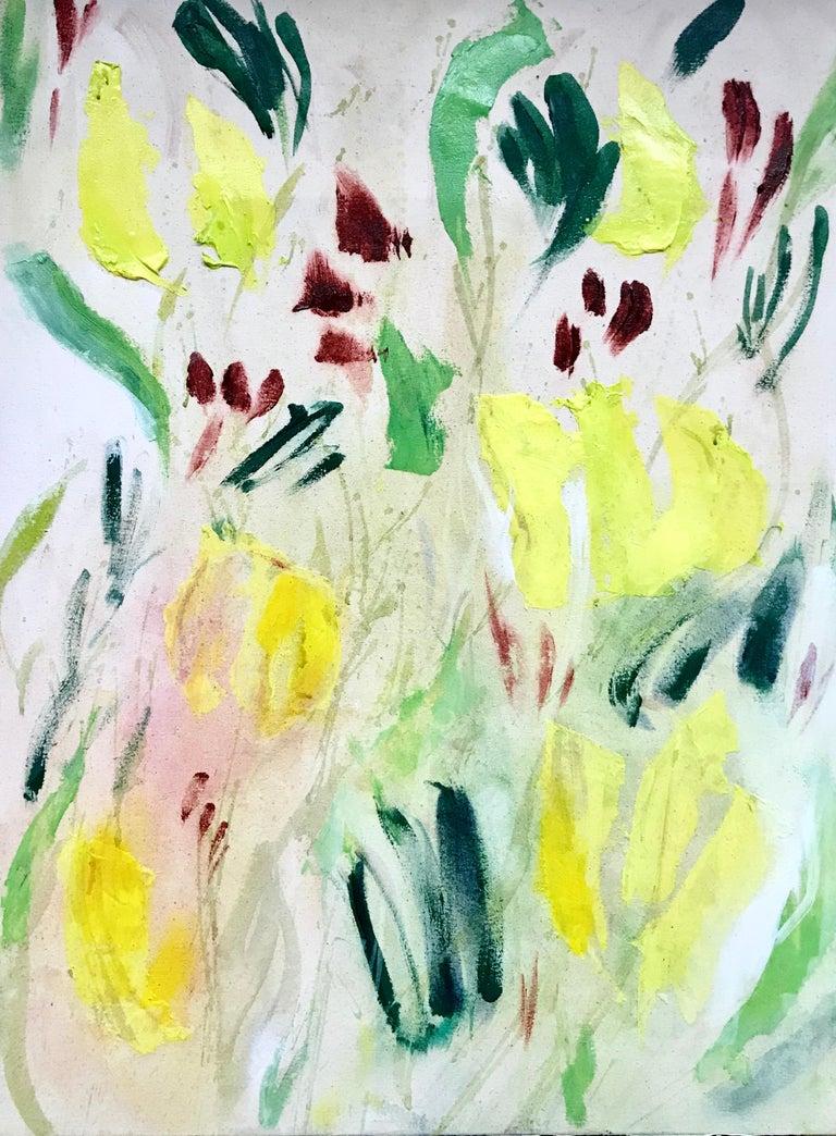 Ksenia Baranova Landscape Painting - Heliotrope, 2019