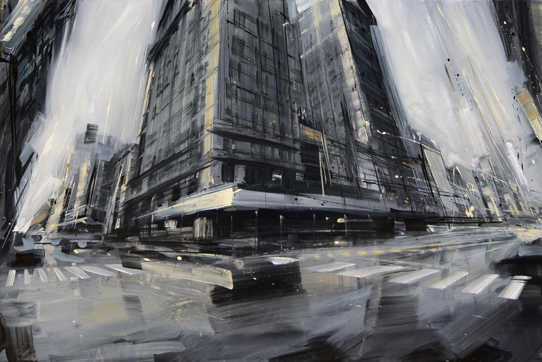 Valerio D'Ospina Landscape Painting - Broadway and W. 25th