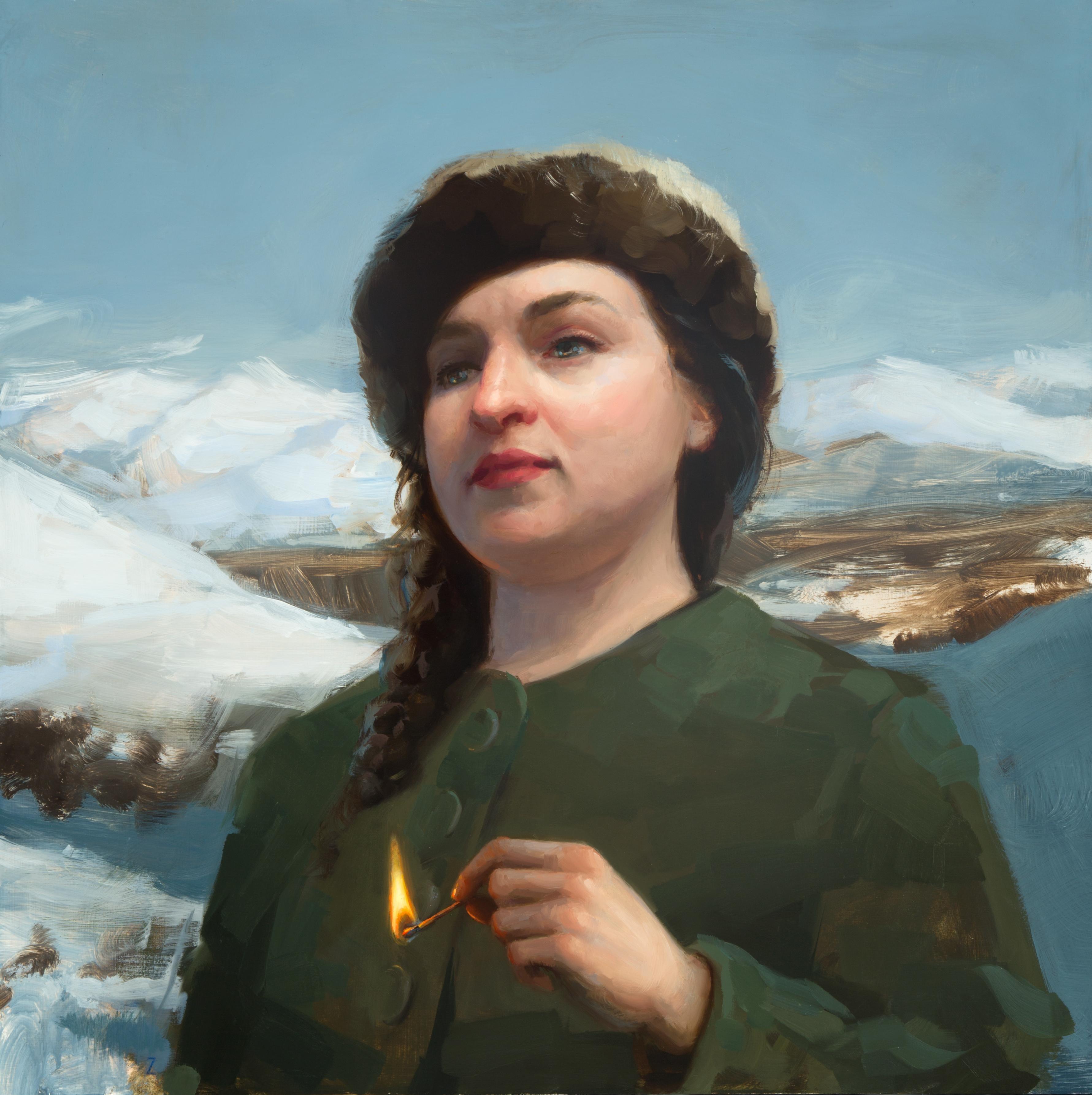 Strike, Oil Painting