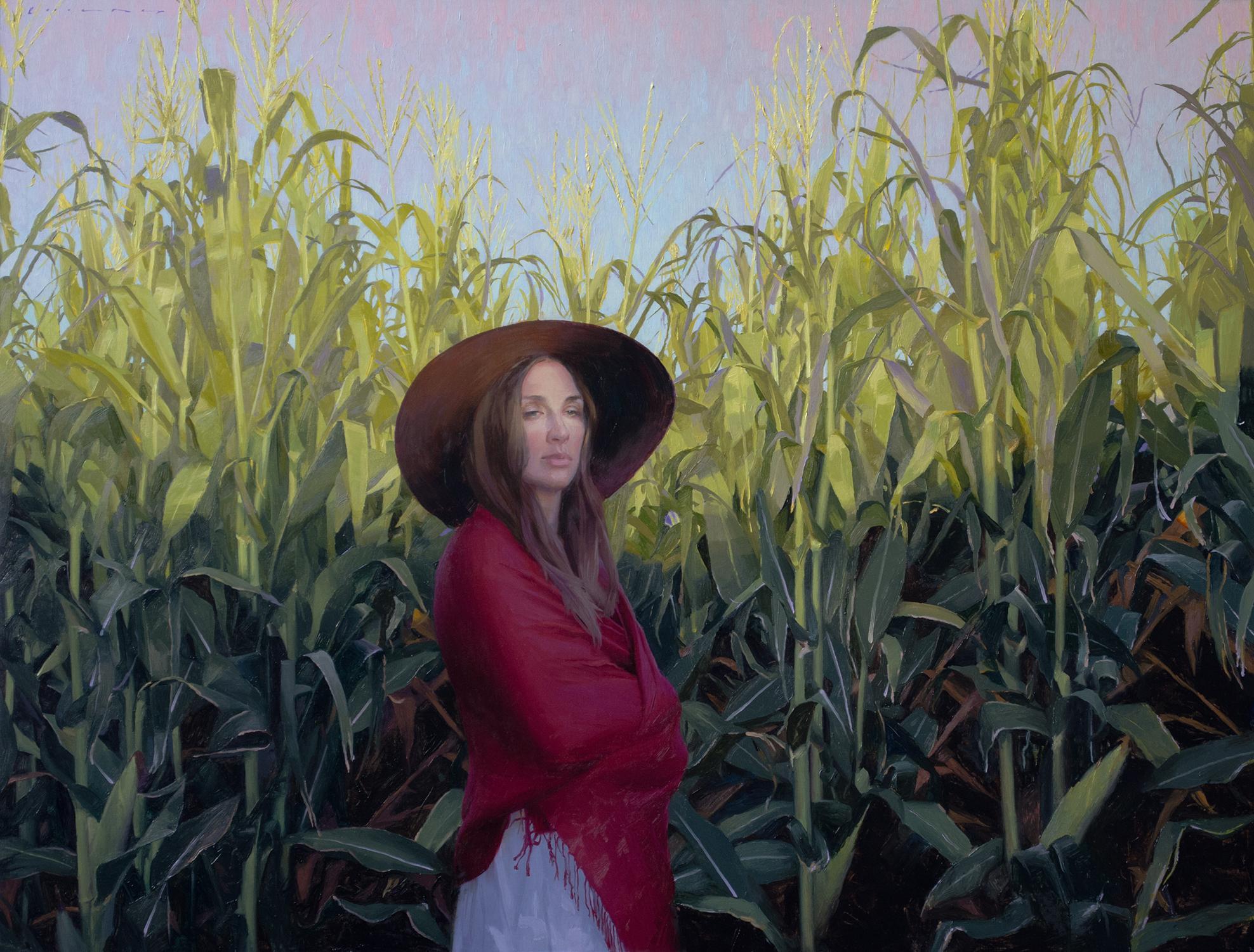 """""""Twilight Harvest"""" Oil Painting"""