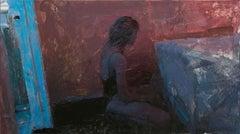 """Room 6,"" Oil Painting"