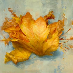 Leaves I, Oil Painting