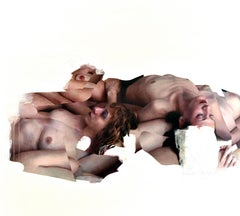 Seven Bodies Number Two, Oil Painting