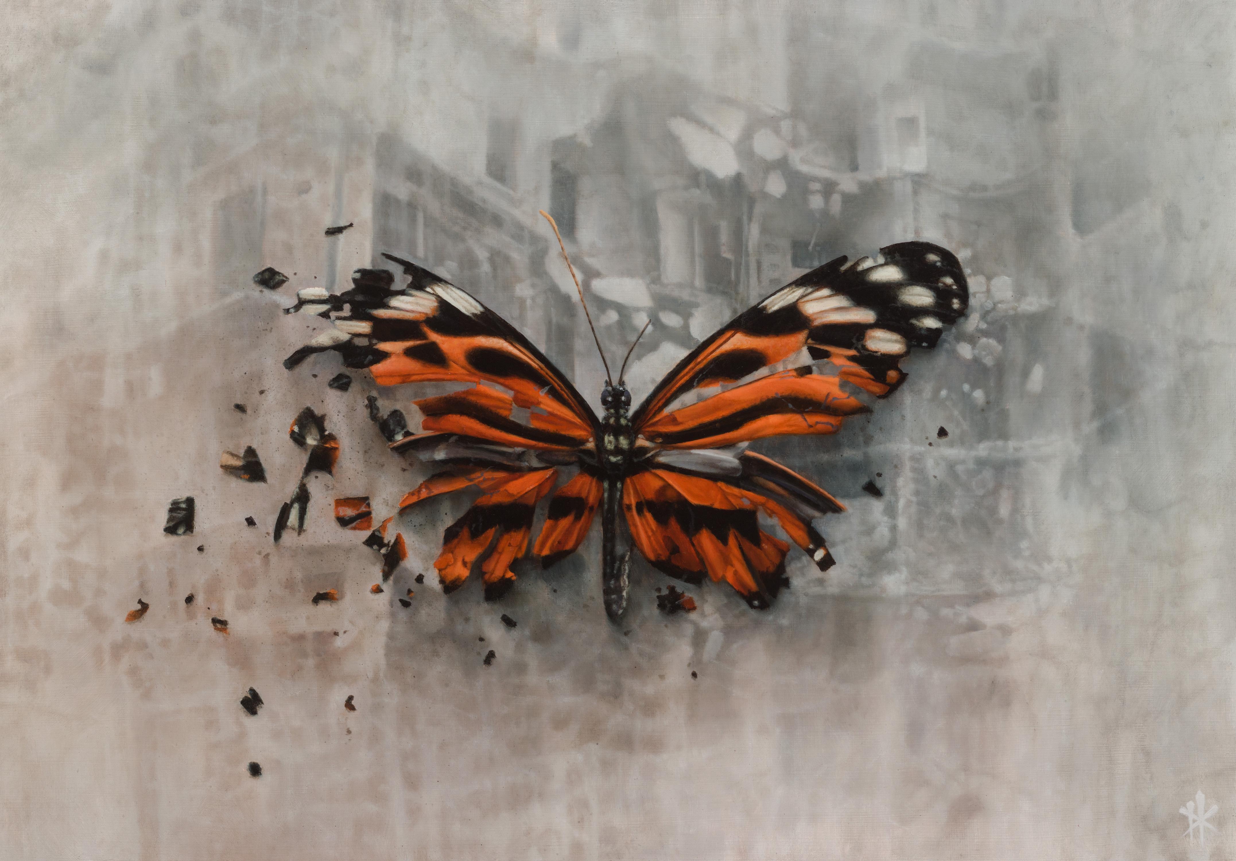 The Omen, Oil Painting