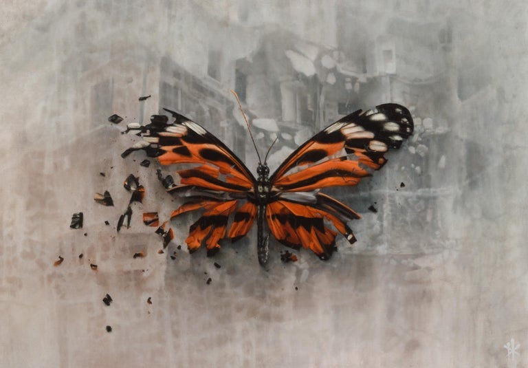 Patrick Kramer Still-Life Painting - The Omen, Oil Painting