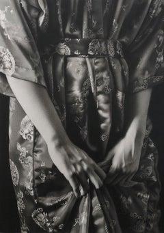 Red Kimono, Charcoal