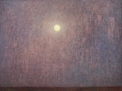 Night with Full Moon, Oil Painting