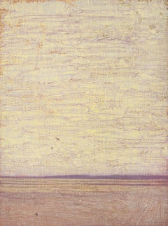 Flight on Textured Sky, Oil Painting