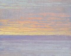 February 4th Sunrise, Oil Painting