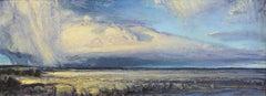 Distant Rain, Oil Painting