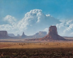 Artist's Point, Monument Valley, Oil Painting