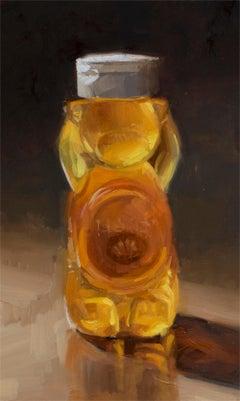 Honey Bear, Oil Painting