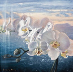 Orchid 1, Oil Painting