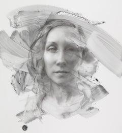 Self Portrait, Graphite Drawing