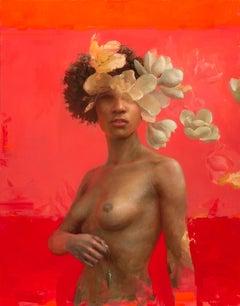 Magnolia Grandiflora, Oil Painting
